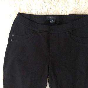 Black stretch pants sanctuary